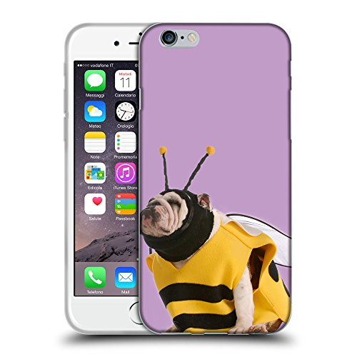 "GoGoMobile Coque de Protection TPU Silicone Case pour // Q05650617 Abeille bouledogue Ube luminoso // Apple iPhone 6 PLUS 5.5"""