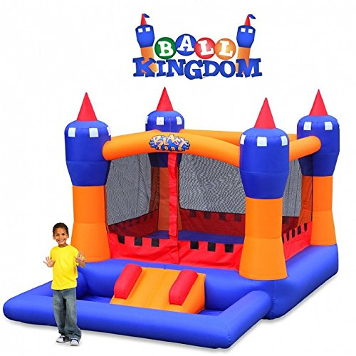 Blast Zone Ball Kingdom Inflatable Bounce House with Balls Pit by Blast Zone by Blast Zone