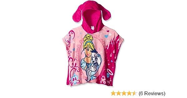 ef7ba39ccbc6 Amazon.com  Disney Girls  Palace Pets Cinderella and Pumpkin Plush  Character Poncho