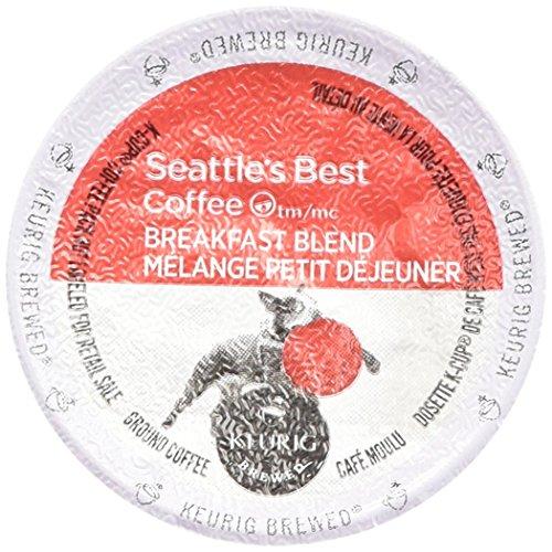 Seattle's Best Coffee Breakfast Blend K-cup 16 Packs