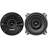Kicker KSC404 KSC40 4 Coax Speakers with .5 tweeters 4-Ohm