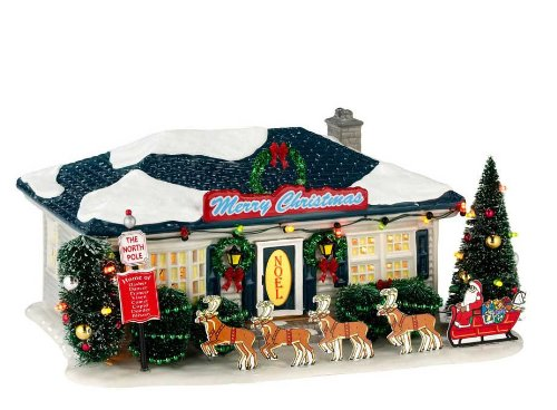 Department 56 Snow Village Season's Greetings Lit House, 5.31 inch by Department 56