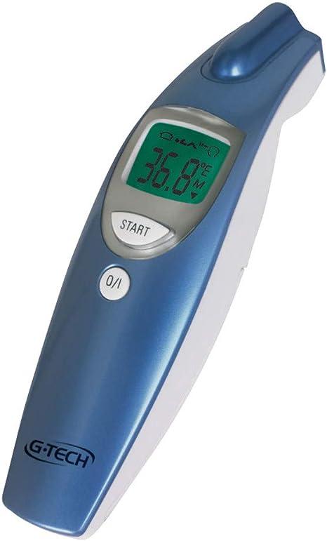 Termômetro Clínico G-Tech Digital de Testa sem Contato - Medição da Temperatura Corpórea, Ambientes e Superfícies, G-Tech: Amazon.com.br: Bebês