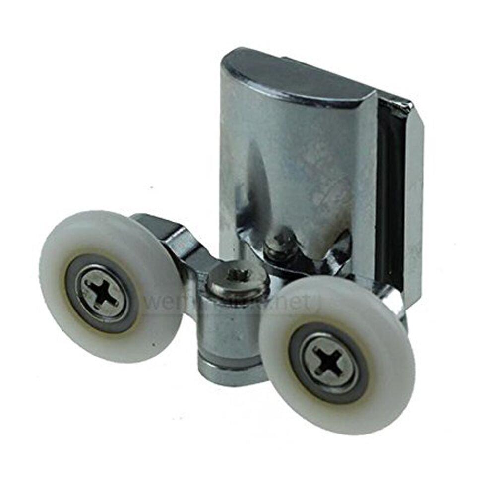 Smooth doccia porta rulli ruote 23mm doccia porta inferiore 4pcs