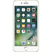 Apple iPhone 7 Plus, GSM Unlocked, 128GB - Gold (Certified Refurbished)