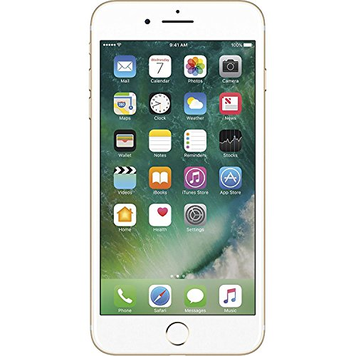 Apple iPhone 7 Plus, 128GB, Gold - For AT&T / T-Mobile (Renewed) (Att 5 Iphone 32gb)