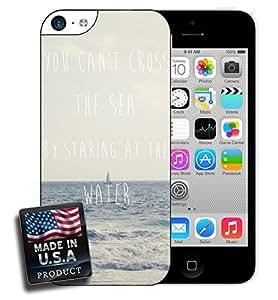 Inspirational Sea Quote iPhone 5c Hard Case