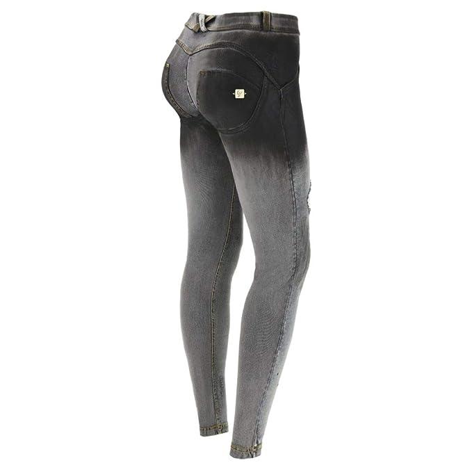 accaparramento come merce rara autorizzazione attraente e resistente FREDDY WR.UP WRUP - con Strappi - Jeans WRUP1RF936: Amazon.it ...