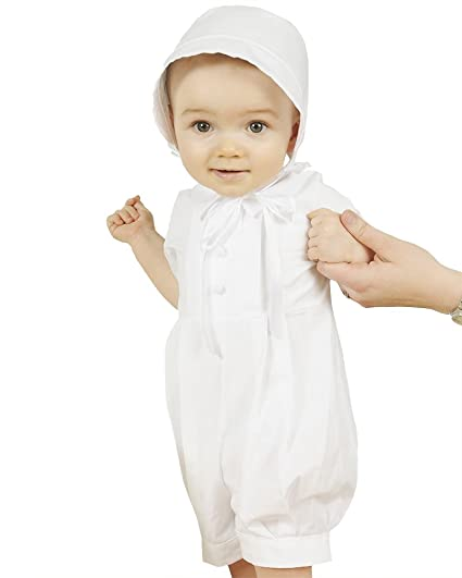 b0a3feed6 One Small Child Tyler 3 Month Cotton Christening Baptism Blessing Outfit  for Boys