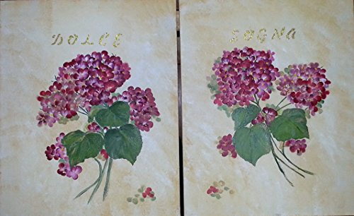 Original Acrylic Painting Hydrangeas with