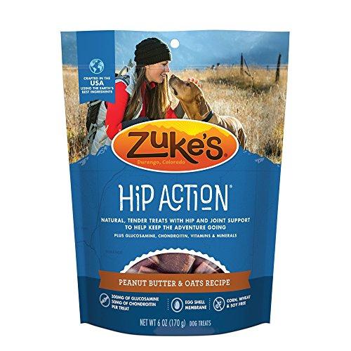 Zuke's Hip Action Natural Moist Dog Treats 6 Oz