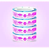 Adorables Diaper Pail System Refills - 4 Pack (1280 Counts)