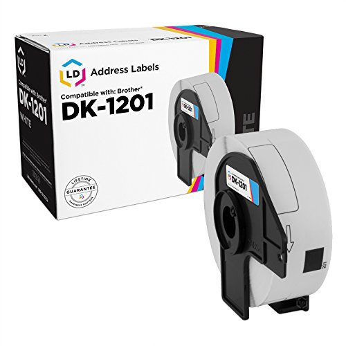 LD Compatible Brother DK-1201 Address Labels / 1.1 in x 3.5 in