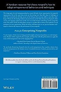 Enterprising Nonprofits: A Toolkit for Social Entrepreneurs by Wiley