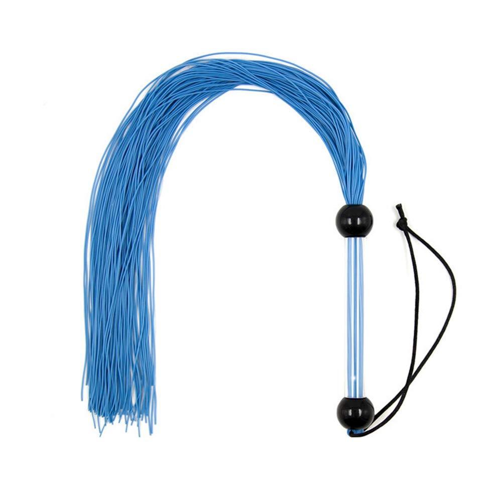 Amosfun Látigo de cuero de PU slapper paddle para nalgadas juguetes adultos para parejas (azul): Amazon.es: Salud y cuidado personal