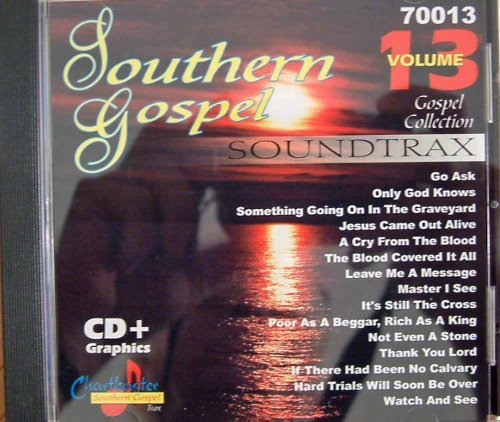 Chartbuster Southern Gospel Vol 13 by Hoppers