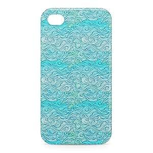 Waves iPhone 4s 3D wrap around Case - Design 7