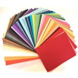 50 Pcs 8.5 x11 Inches Thick Mulberry Paper DIY Craft Scrapbook Wedding Mixed Artificial LOT Thick Handmade Tear Bears Paper Piecing Scrapbook Wedding White and Other Color, Products From Thailand.