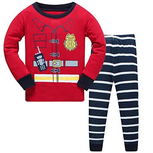 Jomago Little Boys Pajamas Set Toddler 100% Cotton Cosplay O