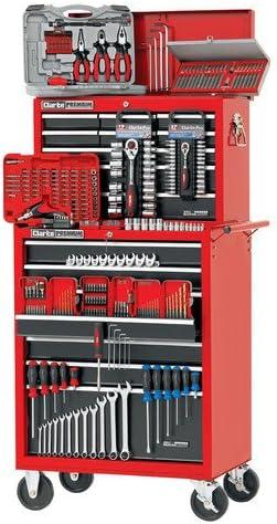 Clarke International - Caja de herramientas y carro (322 ...