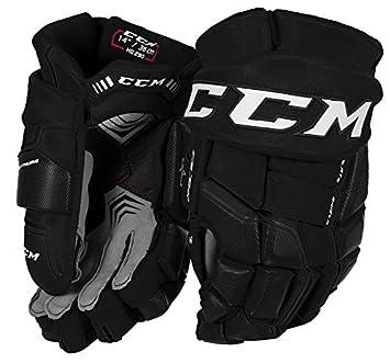 38a1aa037c2 CCM QuickLite 290 Hockey Gloves  SENIOR   Amazon.co.uk  Sports   Outdoors