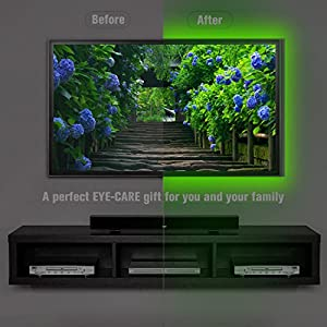 alotoa clairage de bias pour la tvhd 150cm 5v usb powered. Black Bedroom Furniture Sets. Home Design Ideas