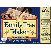 Broderbund Family Tree Maker Version 7 12-CD Set