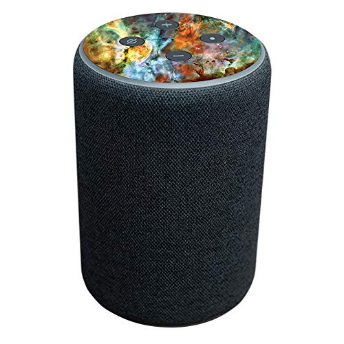 MightySkins Skin Compatible with Amazon Echo Plus (2nd Gen) – Space Cloud | Protective, Durable, and Unique Vinyl Decal wrap Cover | Easy to Apply, Remove, and Change Styles | Made in The USA