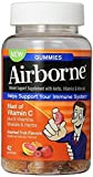 Airborne Assorted Fruit Flavored Gummies, 42 count - 1000mg of Vitamin C and Minerals & Herbs Immune Support (Pack of 4)