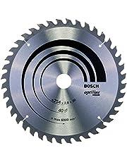 Bosch Professional cirkelsågklinga Optiline Wood (för trä, 254 x 30 x 2,8 mm, 40 tänder, tillbehör cirkelsåg)