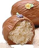 Philadelphia Candies Coconut Easter Egg, Milk Chocolate 8 Ounce Gift Box