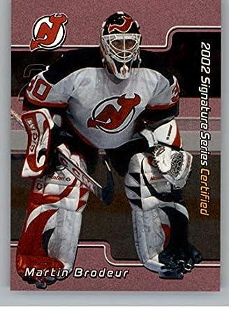 Amazon Com 2001 02 Bap Signature Series Certified 100 Hockey C24