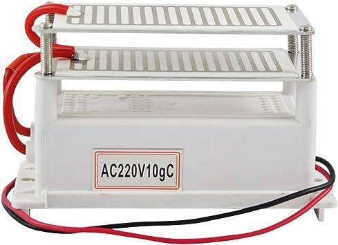 WWK Generador de ozono portátil de 220V 10G, Purificador de Aire ...