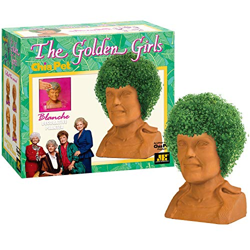 Chia Pet Golden Girls Blanche with Seed