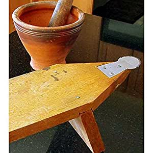 Coconut Grater or Shredder Wood with Stand