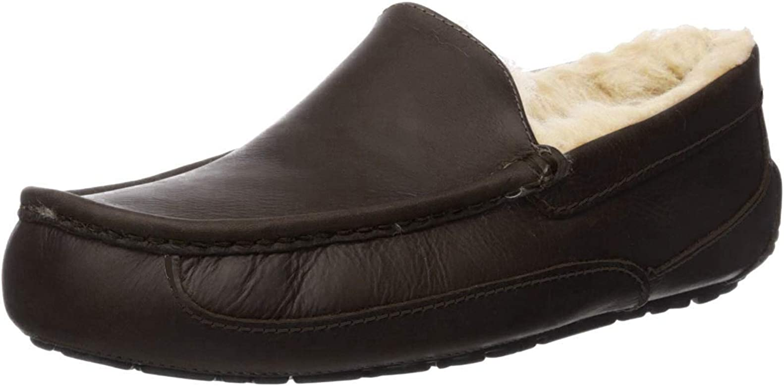 Ascot Leather Slippers