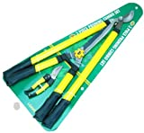 HB-Smith-Tools-3-Piece-Ratchet-Pruner-Set-for-Lawn-and-Garden