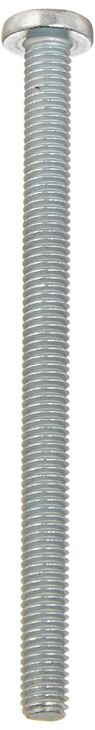 Meets ASME B18.6.3 Imported Zinc Plated #10-32 Thread Size Pack of 25 2-3//4 Length #2 Phillips Drive Fully Threaded Steel Pan Head Machine Screw 2-3//4 Length Small Parts FSCF10234PPSZ