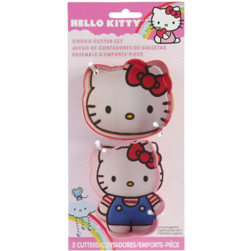 Wilton Hello Kitty 2-Piece Cookie Cutter Set
