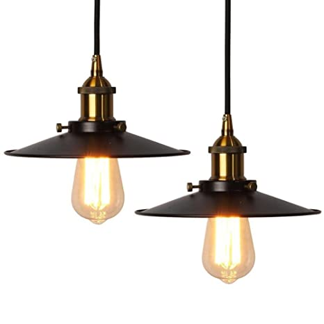 QQ Araña de época Elfeland retro lámpara de techo industrial ...