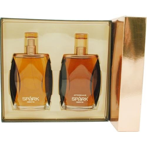 B00021W924 Spark by Liz Claiborne for Men 2 Piece Set Includes: 3.4 oz Cologne Spray + 3.4 oz After Shave Pour 51WuiPFYiLL
