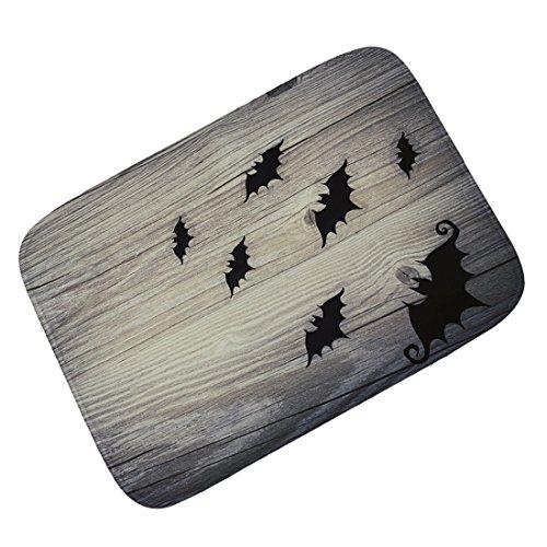 Jiyaru Non-Slip Doormat Halloween Area Rug Horror Carpet Home Entrance Floor Mat #5 M 31