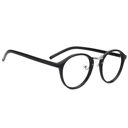 67ff42ad0f83 Slocyclub Non Prescription Glasses Round Optical Eyeglasses Frame for Women