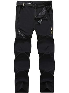 Pantalones Secado Para Ly4u Y Cinturón Con HombreDe RápidoLigeros Montaña Elásticos yvb76Ygf