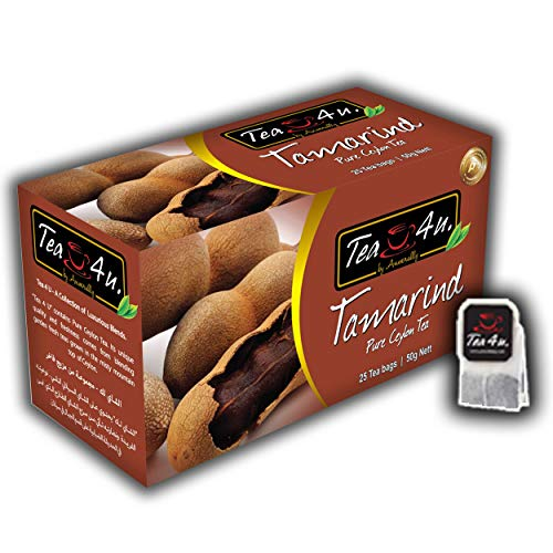 Tea4U Tamarind Black Tea Bags – Original Ceylon Tea