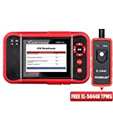 LAUNCH 5824089833 CRP123 OBD2 Scanner Diagnostic Scan Engine/ABS/SRS/Transmission System with EL-50448 TPMS Activation Relearn Tool