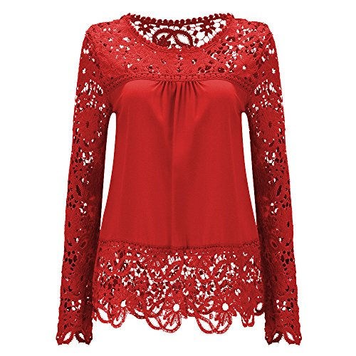 AvaCostume Womens Shoulder Sleeve Blouse