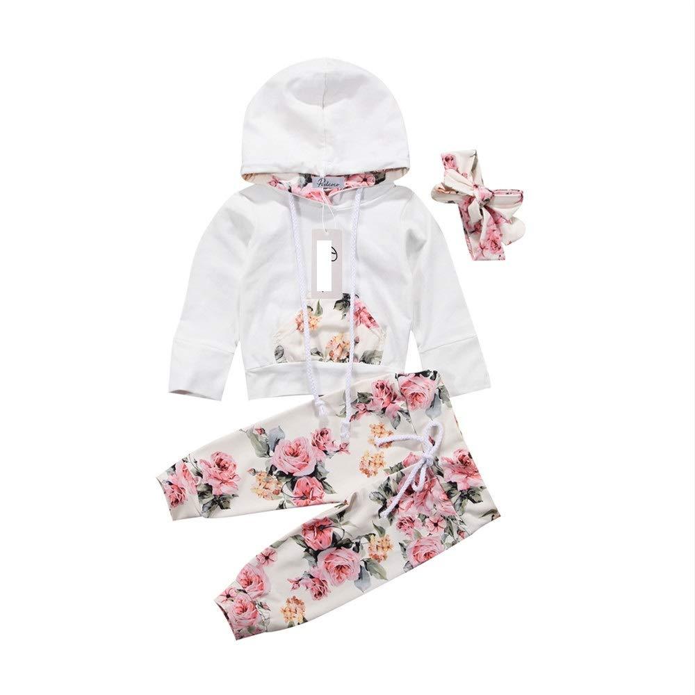 Wang-RX Bebé recién Nacido Ropa para niñas Abrigo con ...