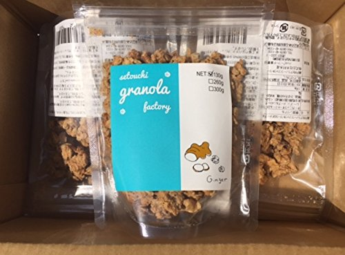 Setouchi granola (jengibre) bolsas X3
