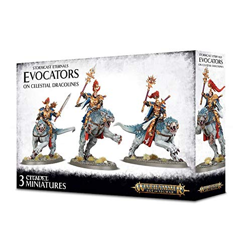 Warhammer - Age of Sigmar Evocators on Celestial Dracolines